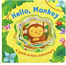 Hello Monkey (Peek-a-boo Books) (Peek-A-Boo Board Book)