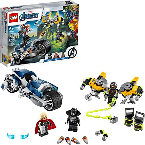 discount LEGO Marvel Avengers Speeder Bike popular Attack 76142 Black Panther and Thor Buildable Superhero Toy, Great Gift for Kids, New 2020 (226 outlet online sale Pieces) online sale