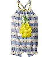 Pineapple and Stripes Summer One-Piece Bubble (Infant)