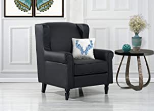 Best grey leather scroll back chairs Reviews