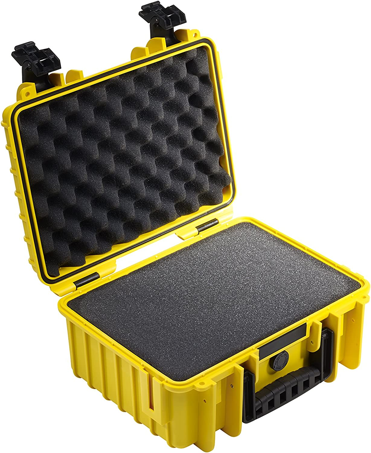 The Original SI B/&W outdoor.cases type 1000 with pre-cut foam