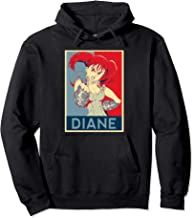 Seven Deadly Art Anime Sins - Diane Pullover Hoodie