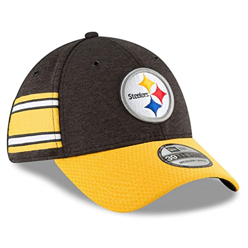 New Era 2018 39Thirty NFL Pittsburgh Steelers Sideline Home Hat Cap 11763360 31a28de6e