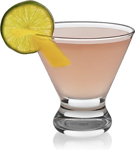 Libbey Cosmopolitan, juego grande de 12 vasos de fiesta para martini
