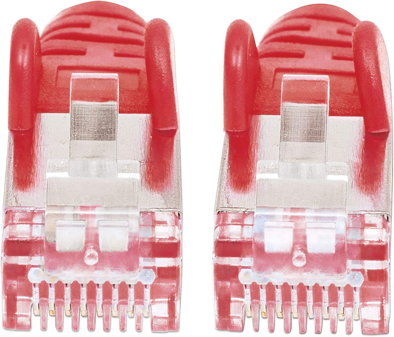Booted Polybag 3 m Yellow PVC Intellinet Network Patch Cable Snagless Cat5e Gold Plated Contacts CCA SF//UTP