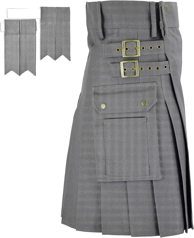 MajesticUSA Utility Direct store Manufacturer regenerated product Kilts Men Traditional Modern C Scottish Kilt