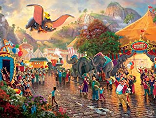 Thomas Kinkade - The Disney Collection - Disney's Dumbo Puzzle, 750 Pieces