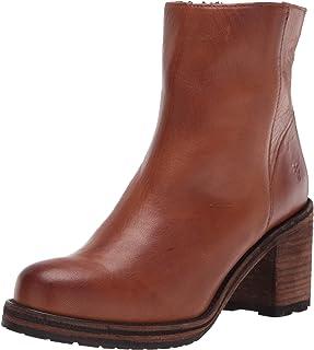 حذاء كارين النسائي من الداخل بسحاب قصير للكاحل من Frye