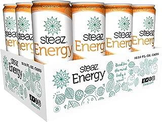 Steaz Energy Drink, 12 Ounce (Blood Orange Clementine)