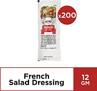 Heinz French Italian Dressing (0.4 oz Packets, Pack of 200)