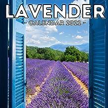 Lavender Calendar 2022: 16-Month Calendar, Cute Gift Idea For Lavender Lovers Women & Girls