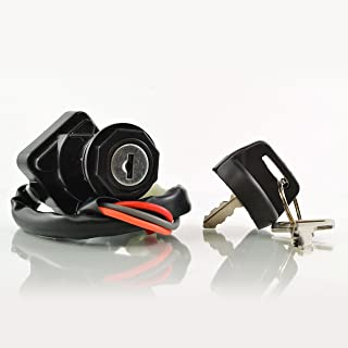 3-Pos. Ignition Key Switch for Arctic Cat Alterra 400 450 500 | TBX/TRV 400 500 Automatic Manual | XC 450 | DVX 400 2000-11 | OEM Repl.# 3313-439/3430-040/3509-004