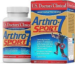 فرمول های ورزشی مکمل کلینیکی Arthro-7 بالینی پزشکان ایالات متحده با 7 ماده مغذی مشترک برای ناراحتی های مفاصل ، سفتی ، بهبود عملکردها ، سلامت مشترک [1 ماه تأمین - 60Count]