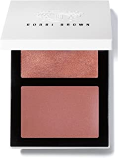 Bobbi Brown Cheek Glow & Pot Rouge For Lips and Cheeks Palette -Bare Cream Glow Highlighter Bare/ Desert Rose Pot Rouge For Lips and Cheeks