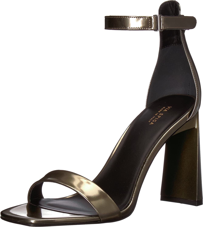 Via Spiga Womens Faxon Angular Heeled Sandal Heeled Sandal