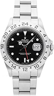 Rolex Explorer II Mechanical (Automatic) Black Dial Mens Watch 16570 (Certified Pre-Owned)
