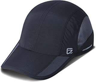 GADIEMKENSD Unstructured Quick Dry Hat Sun Protective Outdoor Sports Cap Unisex for 7-7 1/2 (21 7/8