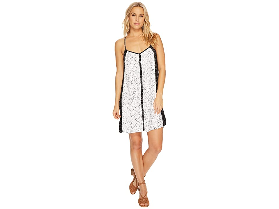 Volcom Mix A Lot Cami Dress (Black Combo) Women