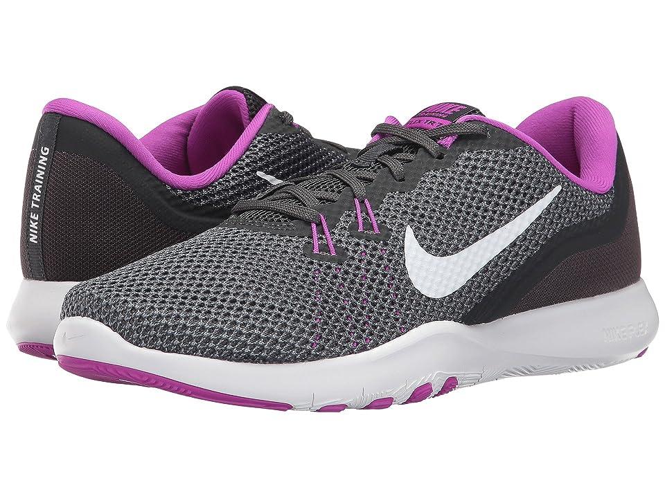 Nike Flex TR 7 (Anthracite/White/Dark Grey/Hyper Volt) Women
