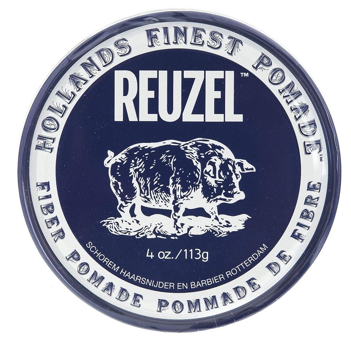 壮大なラベコジオスコルーゾー ネイビー ファイバー ポマード Reuzel Navy Fiber Pomade 113 g [並行輸入品]