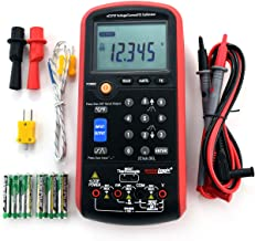 Volt mA Thermocouple Loop Process Calibrator - 0-20V and 4-20mA Simulator – Portable Millivolt mA and Temperature Signal Generator and Meter for Transmitters, Current Loops, PLC and Process Devices