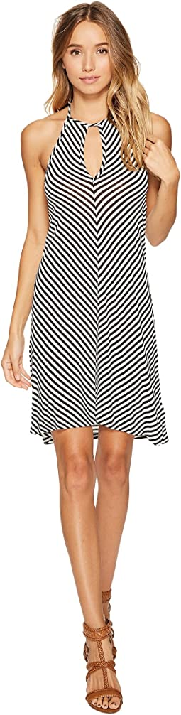 Itsy Ditsy Floret High Neck Dress Cover-Up