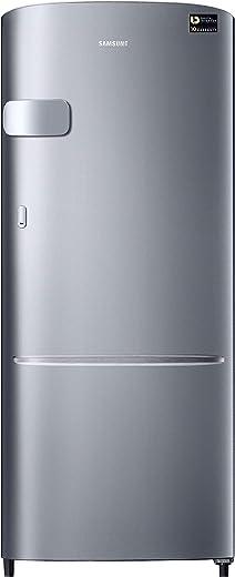 Samsung 230 L 3 Star Inverter Single Door Refrigerator (RR24A2Y2YS8/NL, Elegant Inox) 1