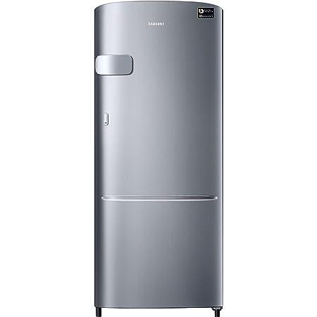 Samsung 230 L 3 Star Inverter Single Door Refrigerator (RR24A2Y2YS8/NL, Elegant Inox)
