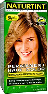 Naturtint, Permanent Hair Color, 8A Ash Blonde, 5.28 fl oz (150 ml)(pack of 2)