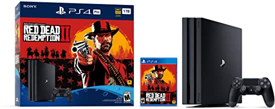 Playstation 4 Pro 1TB Console - Red Dead Redemption 2 Bundle Playstation 4 Pro 1TB Console - Red Dead Redemption 2 Bundle,...