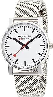 Mondaine - SBB Evo 35mm A658.30300.11SBV Reloj de pulsera Cuarzo Hombre correa de Acero inoxidable Plateado