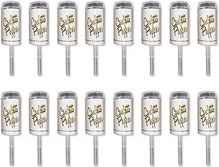 Beistle 59640-BKGD Confetti Push Ups, Black/Gold, 6.75