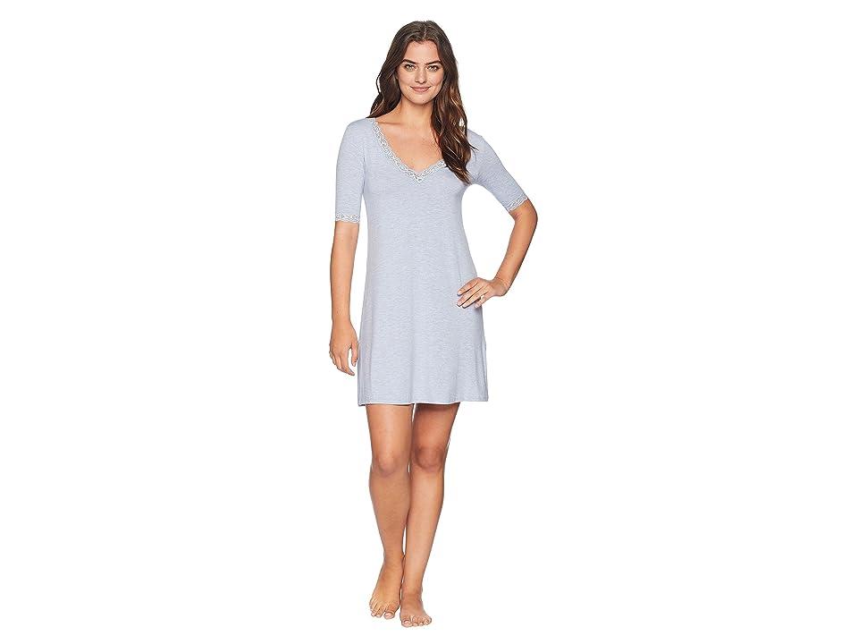 Natori Feathers Sleepshirt (Heather Blue) Women
