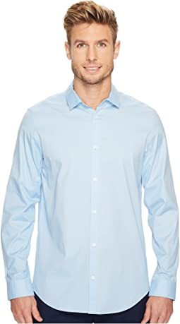 Long Sleeve Infinite Cool Button Down Oxford Shirt