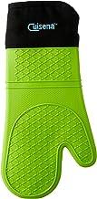 Cuisena 94249 Silicone/Fabric Oven Glove, Green