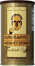 Kurukahveci Mehmet Efendi Turkish Coffee, 17.6 Ounce (Pack of 1)