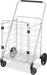 Whitmor Heavy Duty Utility Cart with Front Door