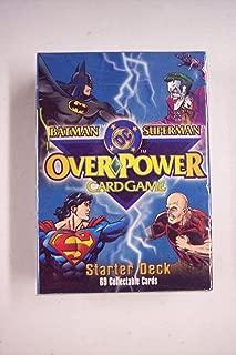 Batman/Superman DC Overpower Card Game Starter Deck