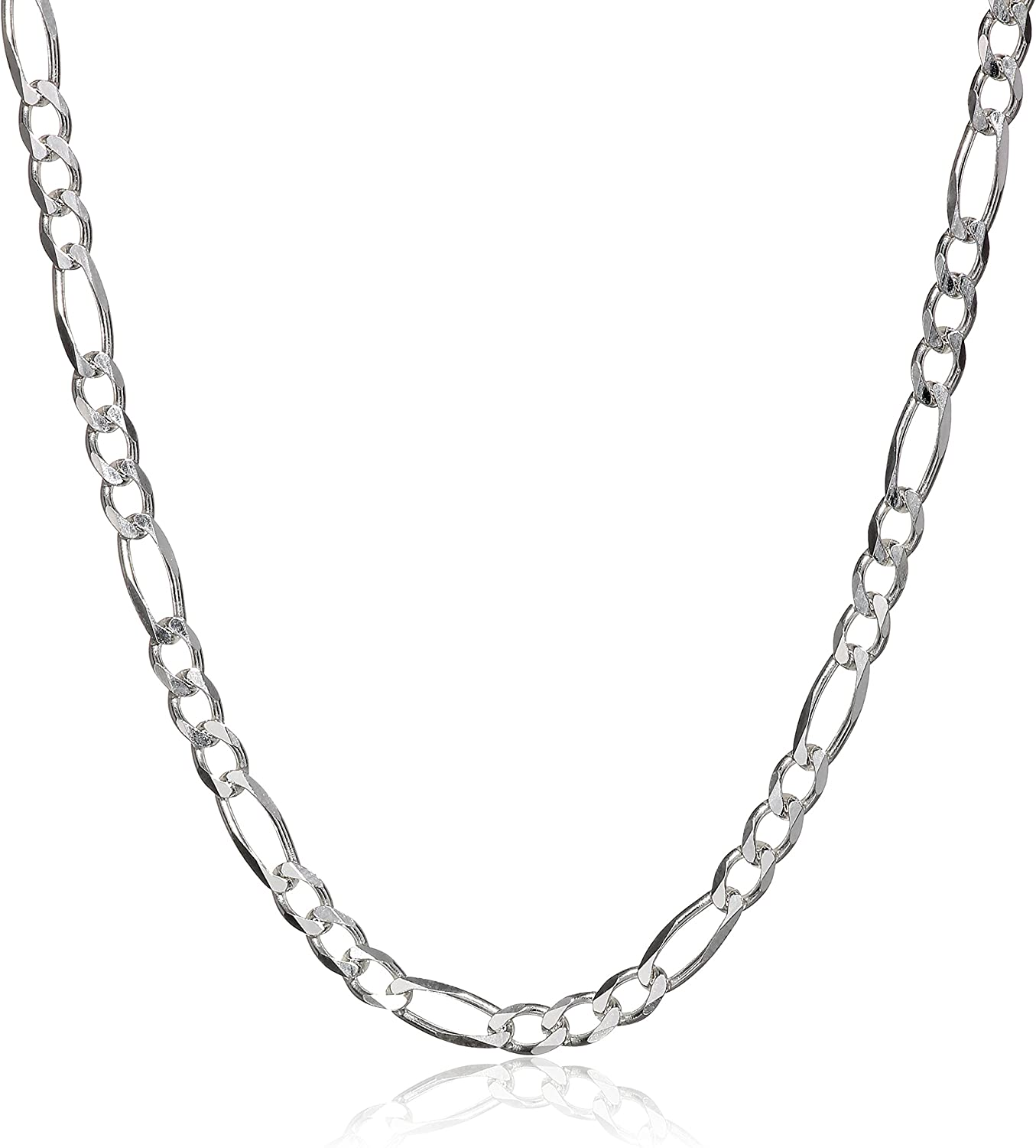 3.2ft1.6ft S925 Sterling Silver Chain,Necklace Chain,Sterling Silver Chains,Silver Chain