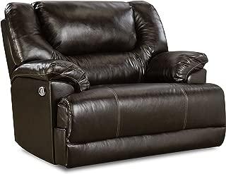 Simmons Upholstery Bingo Power Cuddler Recliner Brown