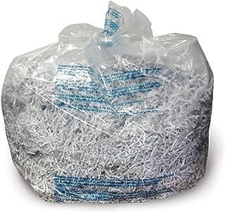 Swingline GBC Shredder Bags, Plastic, 6-8 Gallon, For 60X/80X/100X/200X/100M, 100/Box (1765016)