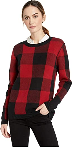 Plaid Cotton Pullover