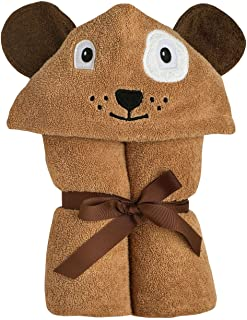 Yikes Twins Child Hooded Towel - Dog