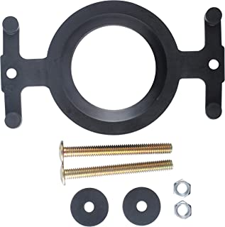 Poweka 04-3817 Toilet Tank to Bowl Gasket Kit for Eljer,Solid Brass Tank to Bowl Bolt Set