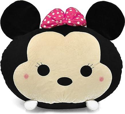 Disney Tsum 19 Minnie Mouse Round Bean Bag,  Black