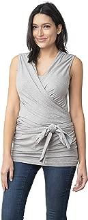 Seraphine Womens Babywearing Wrap Cotton Maternity Top
