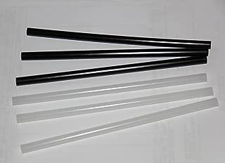 P-Tex Ptex Rods sticks 3 black + 3 clear skis snowboard base repair WSD new