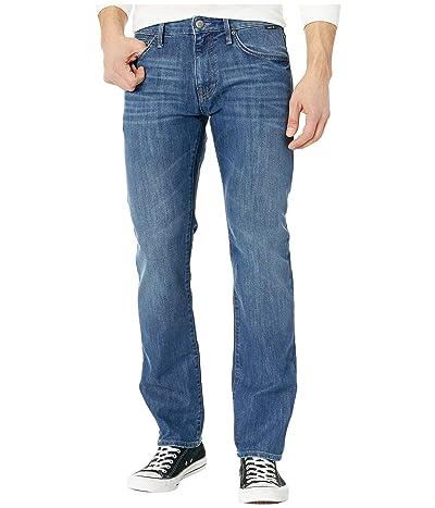 Mavi Jeans Zach Straight Leg in Dark Indigo Stanford (Zappos Exclusive) (Dark Indigo Stanford) Men