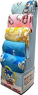 Sonic the Hedgehog 5-Pack Casual Crew Socks for Men