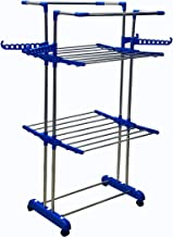 TNC-Mini Jumbo Double POLL Stainless Steel 2 Layer Cloth Dryer Stand